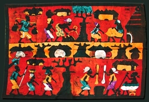 African Cloth Painting | African Art